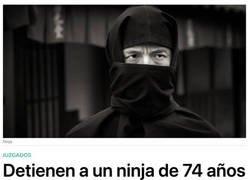 Enlace a Ninja de la vieja escuela