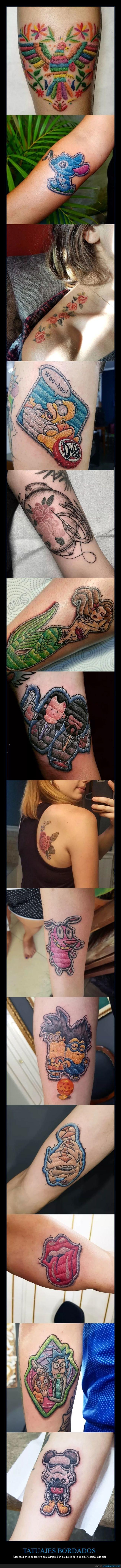 bordados,tatuajes