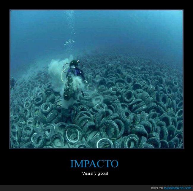mar,medio ambiente,neumáticos