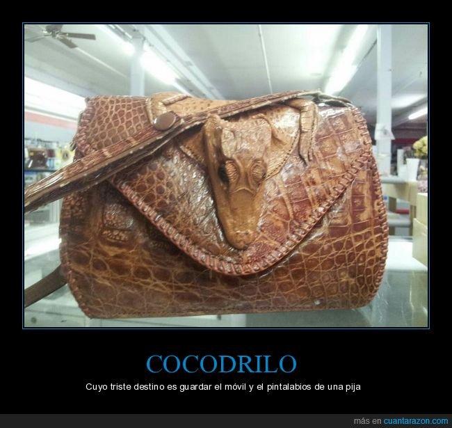 bolso,cocodrilo