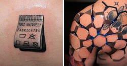 Enlace a Tatuajes 3D muy épicos
