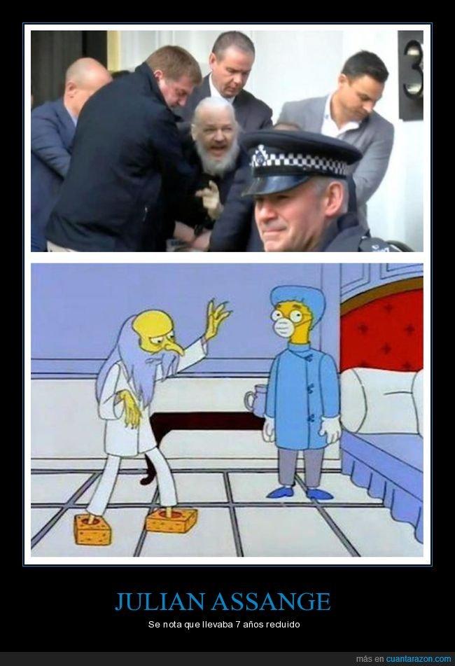 detención,embajada,julian assange