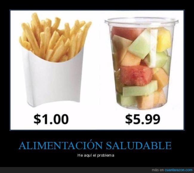 alimentación,precios,saludable