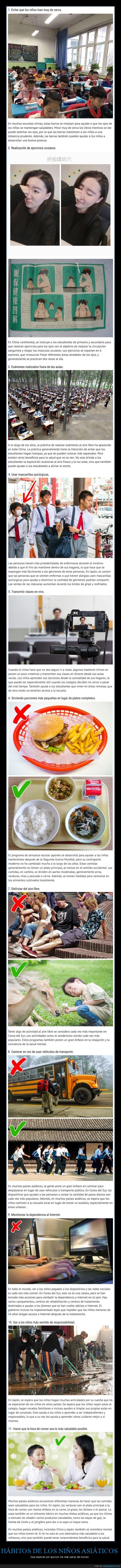 asiáticos,hábitos,niños,sanos