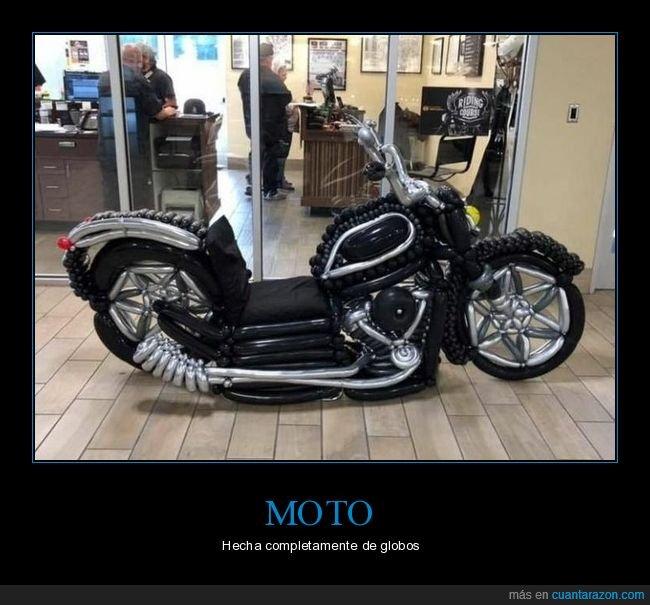globos,moto,wtf