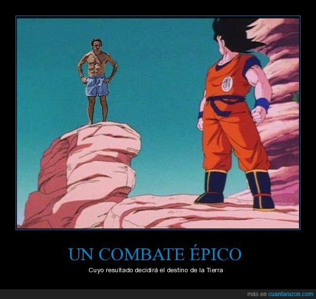 aznar,dragon ball,goku,políticos