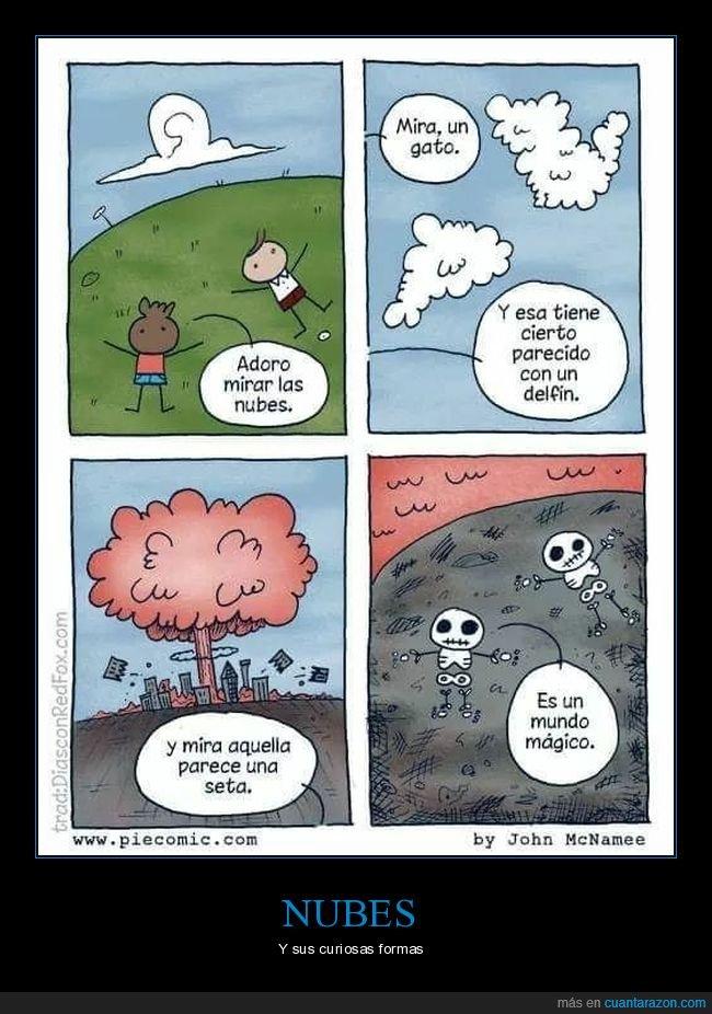 cassette,explosión nuclear,formas,nubes