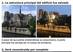 Enlace a Cosas que nos devuelven la esperanza sobre el futuro de la Catedral de Notre Dame