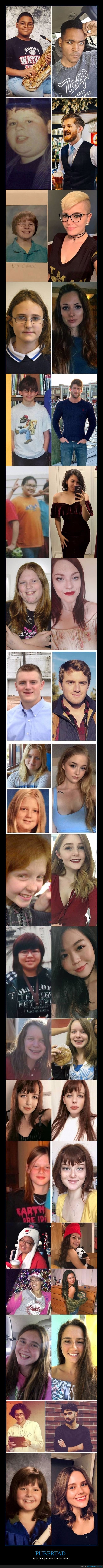 antes,después,pubertad