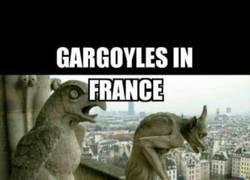 Enlace a Gárgolas francesas VS Gárgolas rusas