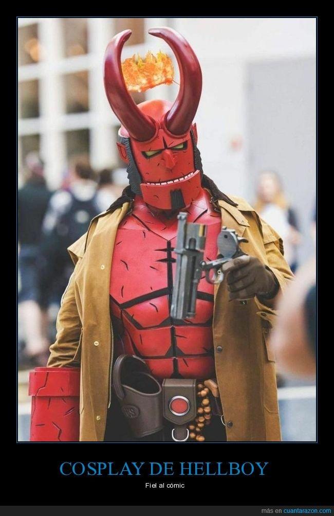 cómic,cosplay,hellboy