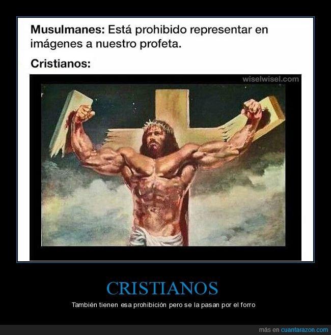 cristianos,jesús,musulmanes,profeta,representar