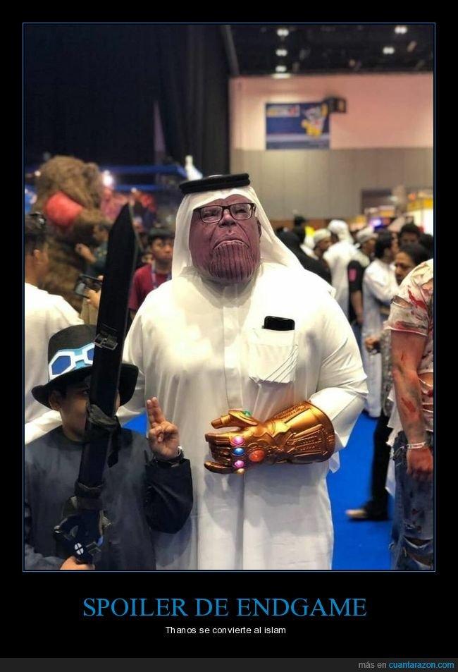 árabe,cosplay,disfraz,thanos
