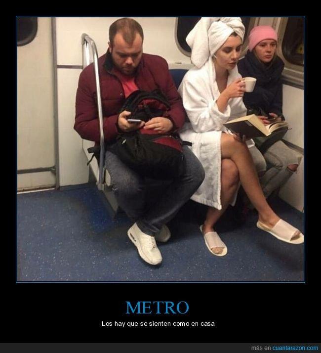 metro,taza,toalla,wtf