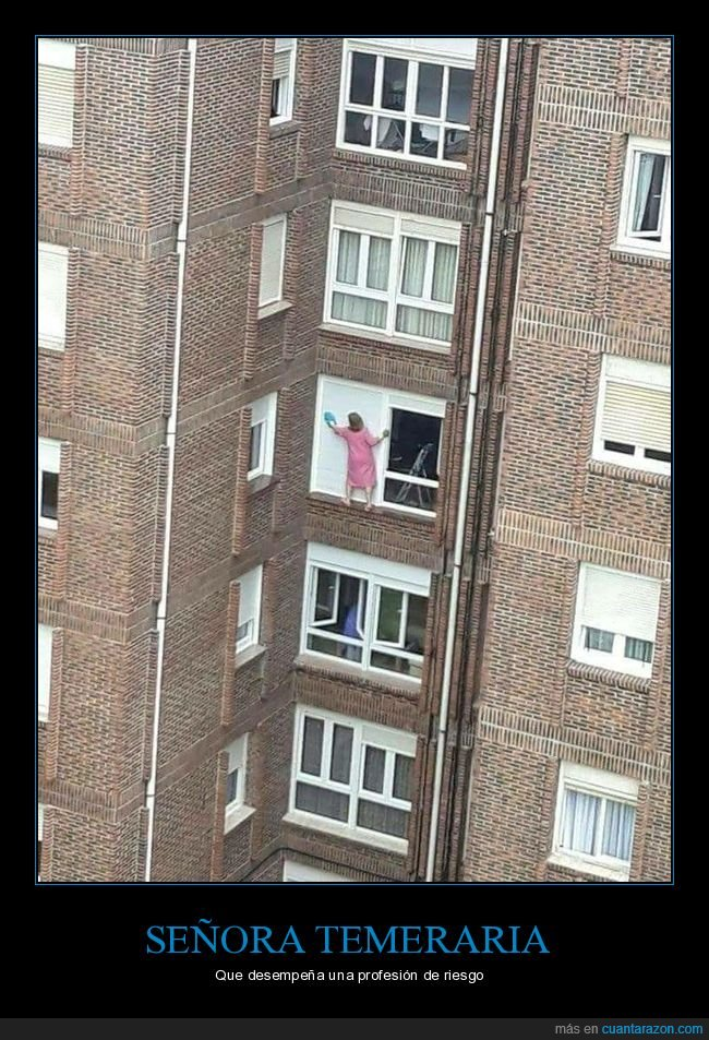 limpiando,persiana,señora,ventana,wtf