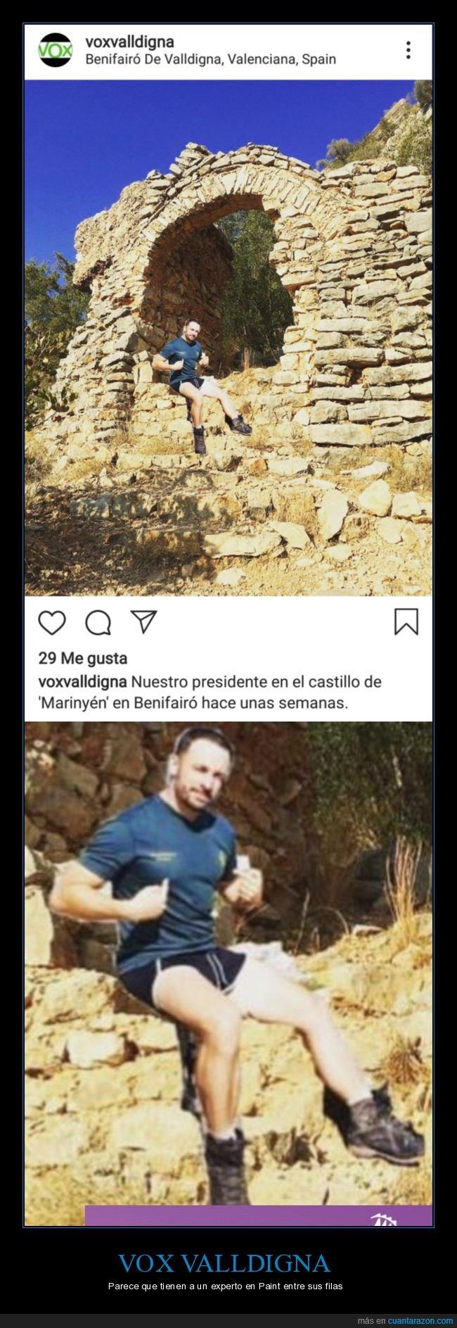mierder,photoshop,políticos,santiago abascal