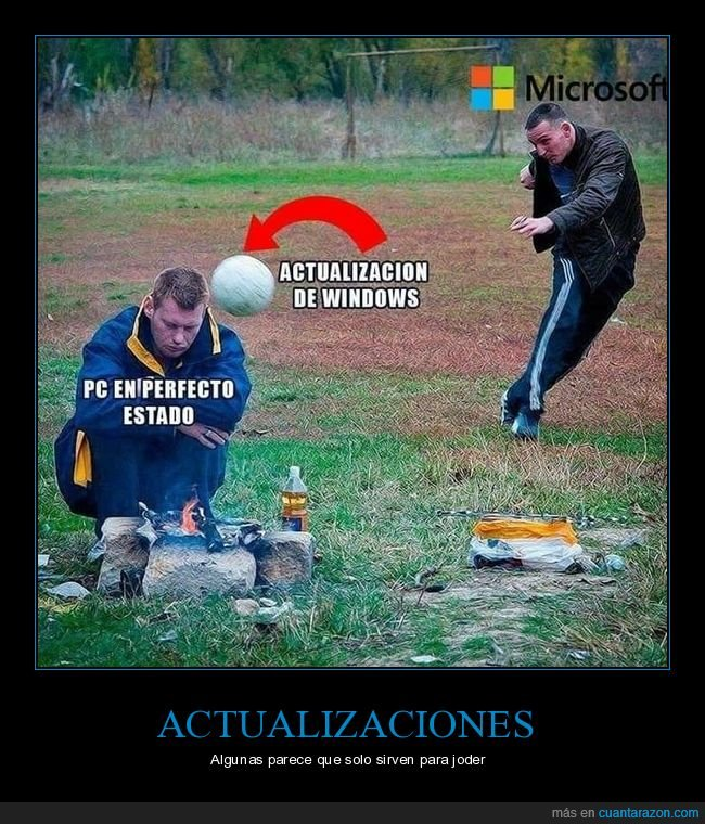 actualización,balonazo,pc,pelota,windows