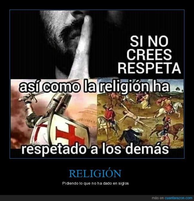 creer,religión,respetar