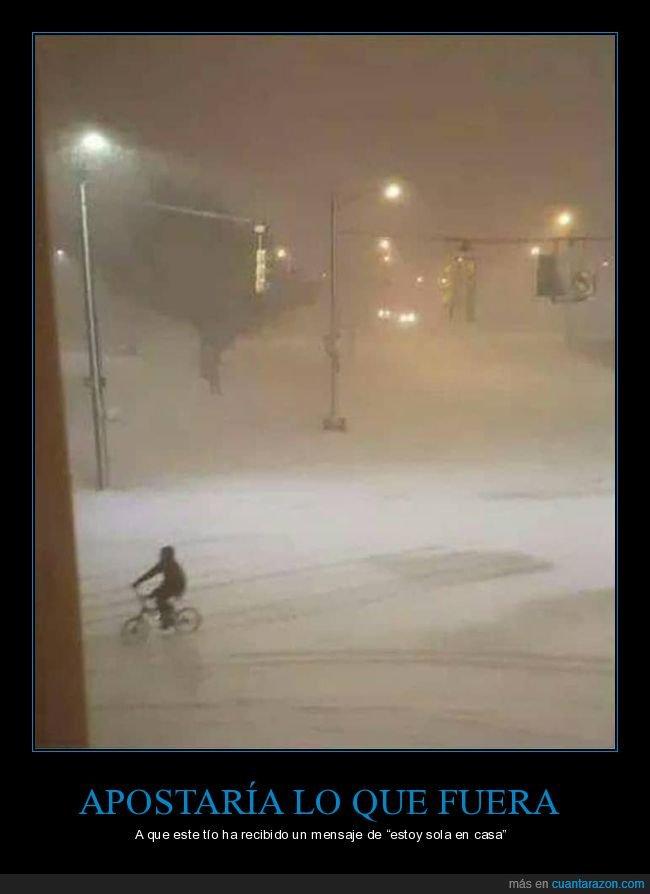 bicicleta,nieve,wtf