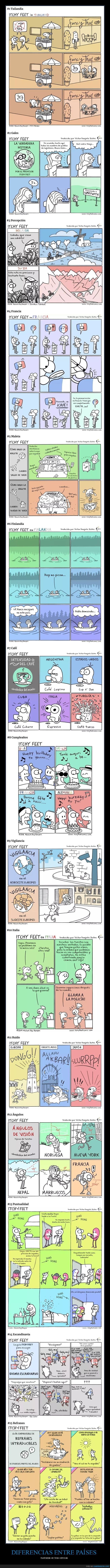 cómics,diferencias,países