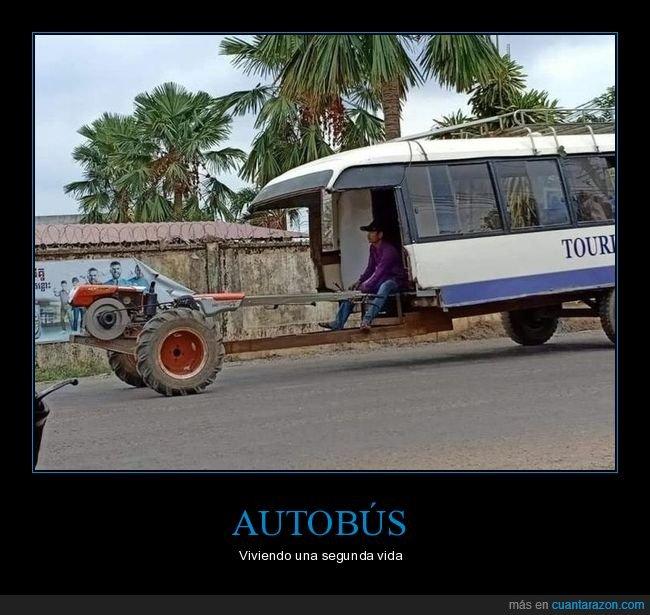 autobús,tractor,wtf