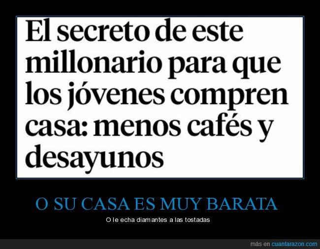 cafés,casamento,comprar,desayunos,jóvenes,millonario
