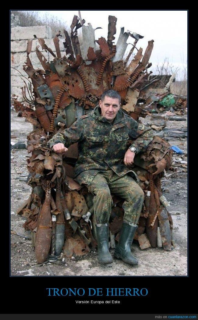 armas,chatarra,trono de hierro,wtf