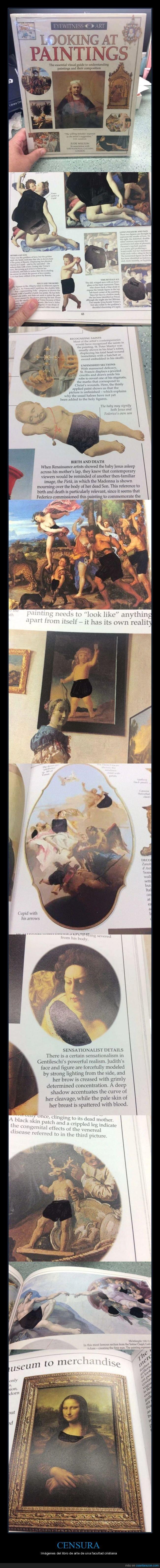 arte,censura,desnudos,libro,tapado