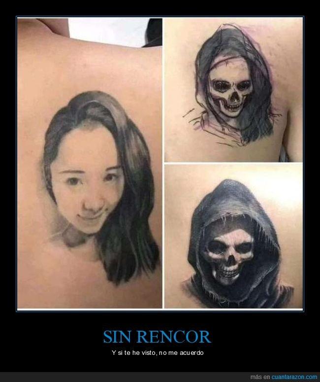 calavera,chica,ex,tapado,tatuaje