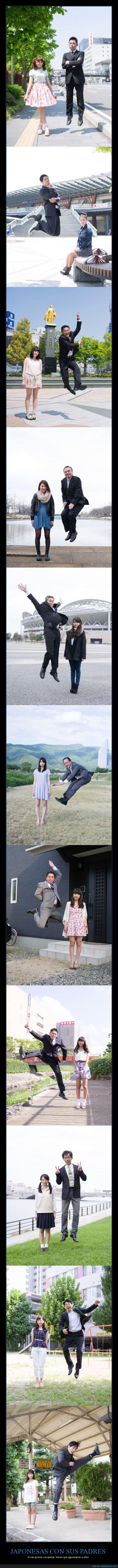 japonesas,padres,saltos,van de guais