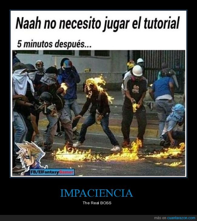 fails,gamer,impaciencia,tutorial