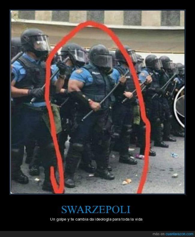 fuerte,ideologia,policia
