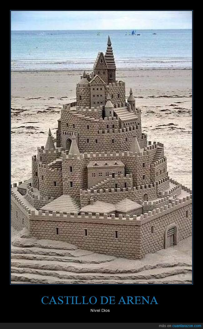 arena,castillo,escultura,maravilla,playa