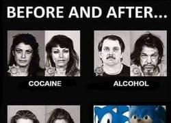 Enlace a Niños, mirad a Sonic pobre