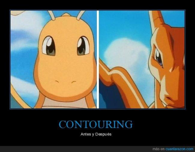contouring,maquillaje,pokemon