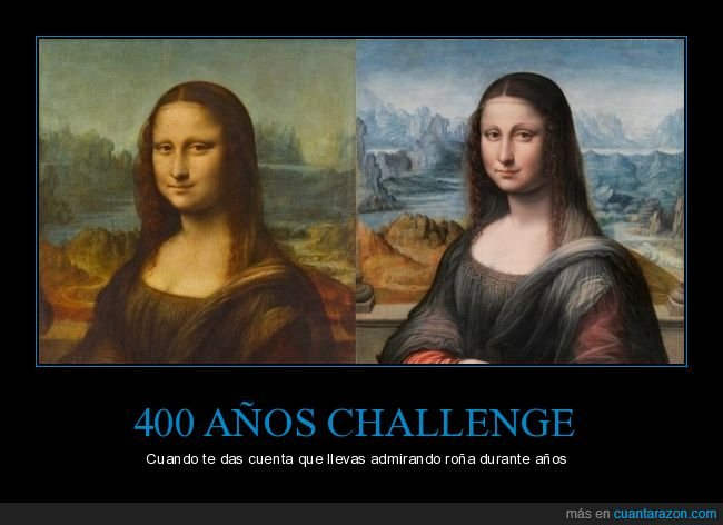 comparación,gioconda,mona lisa