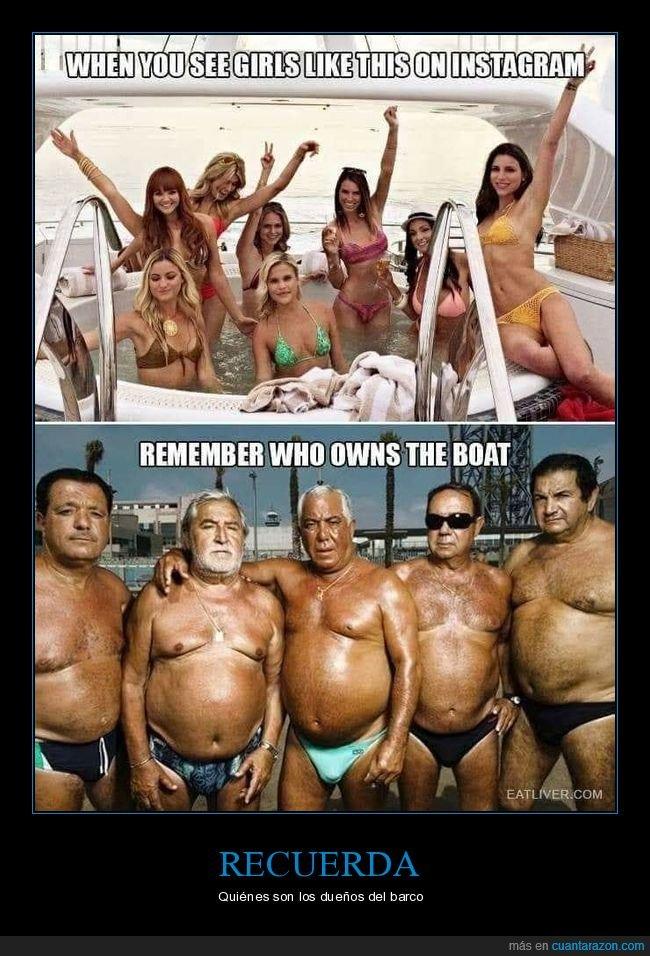 barco,chicas,dueños,instagram