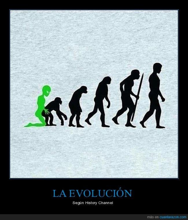 evolución,extraterrestre,mono