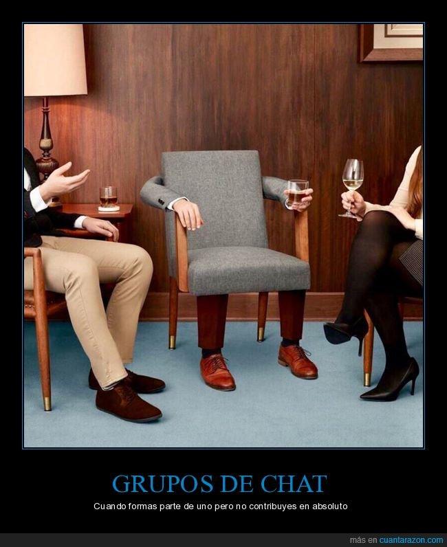 contribuir,grupo de whatsapp,silla