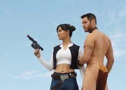 Enlace a Hanna Solo y el Princeso Leio
