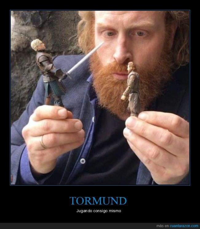 brienne de tarth,juego de tronos,muñecos,tormund