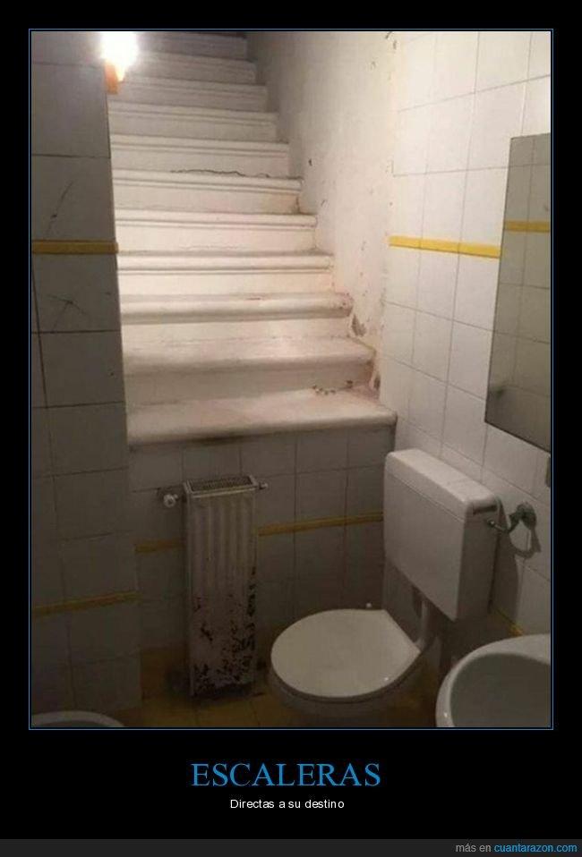 aseos,escaleras,fails