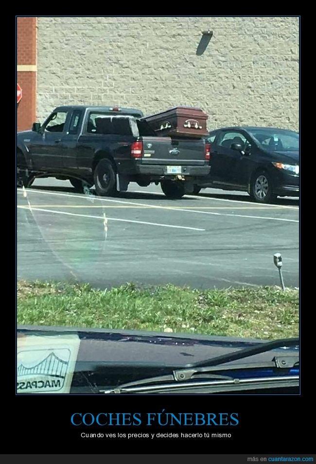 ataúd,camioneta,wtf