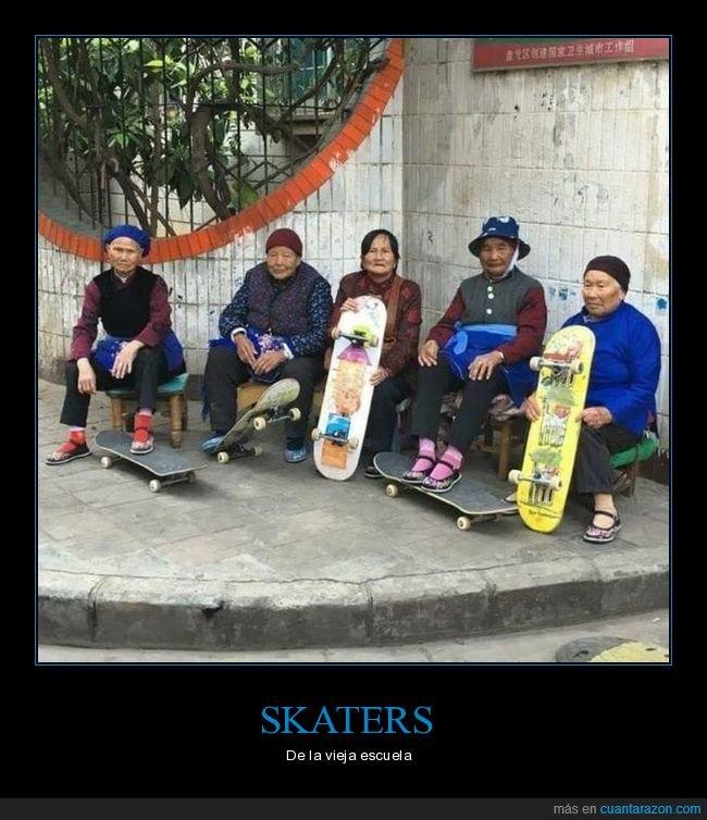 abuelos,skaters,skates