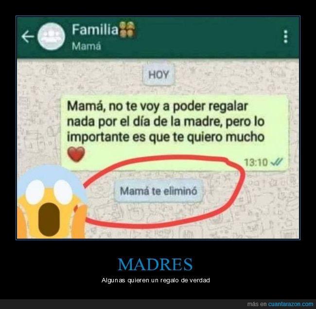día de la madre,eliminar,madre,regalar,whatsapp