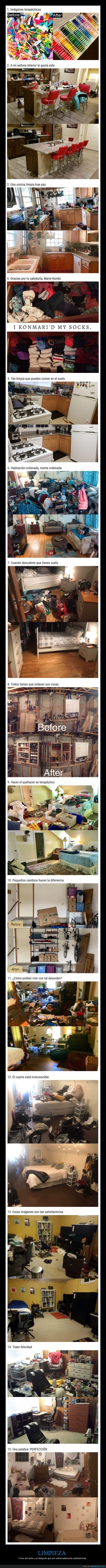 antes,después,limpieza,orden