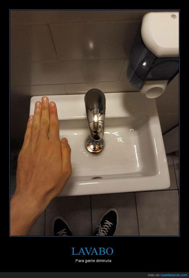 lavabo,pequeño,wtf