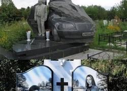 Enlace a Las desconcertantes y extravagantes tumbas de la mafia rusa