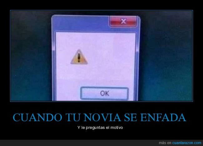 enfadarse,error,motivo,novia,preguntar,windows