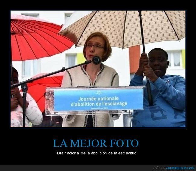 esclavitud,fails,negro,paraguas